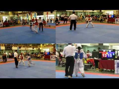 瑞興國小跆拳道隊參加106年市長盃獲獎豐碩