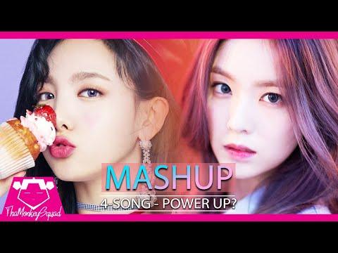 TWICE x RED VELVET- Power Up / What Is Love / Ice Cream Cake / Heart Shaker (KPOP Mashup)