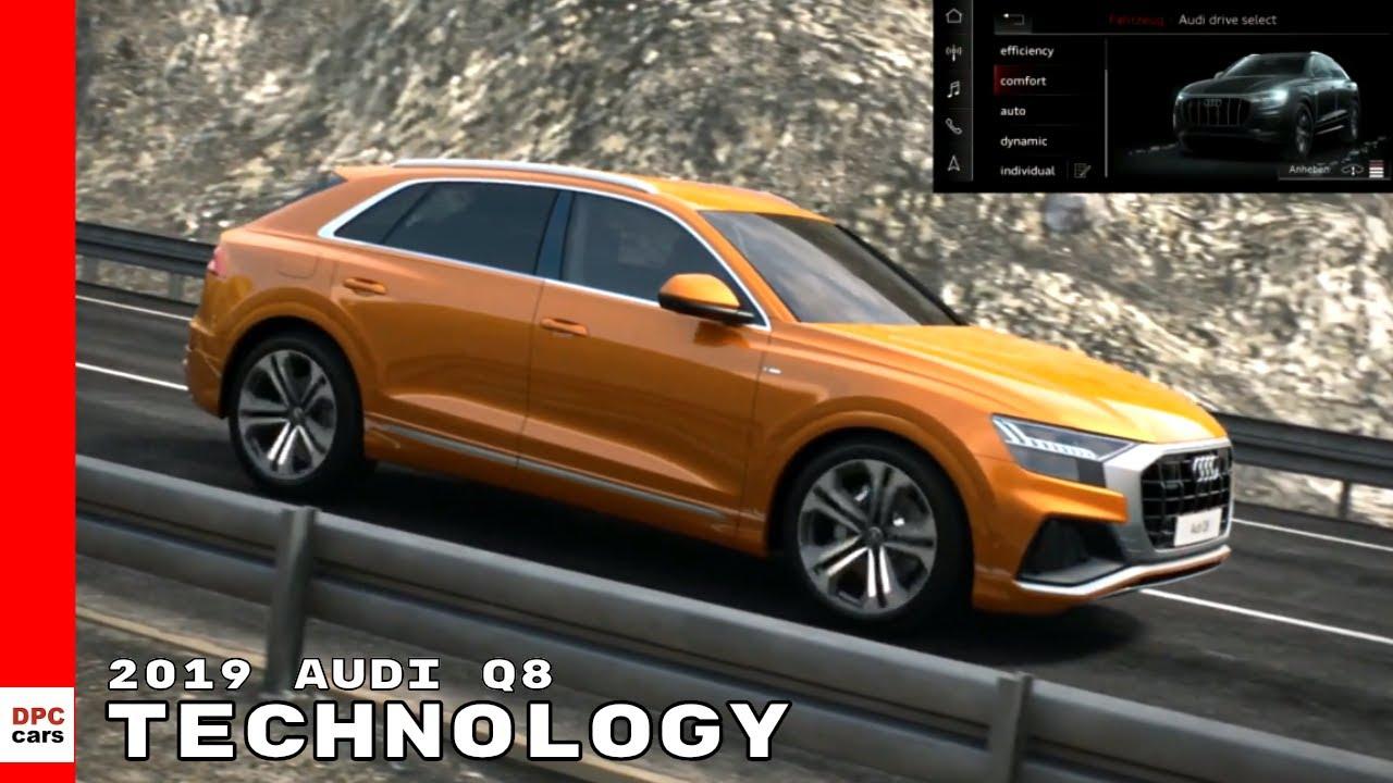 2019 Audi Q8 Hybrid Technology Suspension Trailer Assist Youtube
