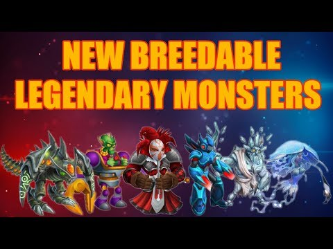 Download Monster Legends | How to Breed All New Breedable Legendary Monsters! (NEW MONSTERS)