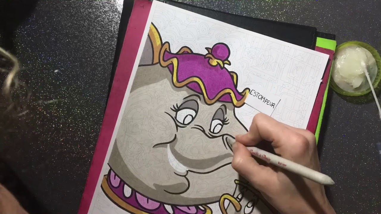 Coloriage mystère Disney tome 26 - YouTube