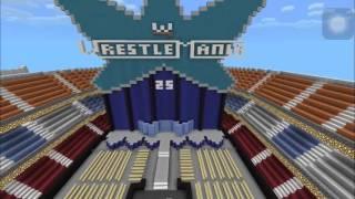 Wwe Minecraft Arena Wrestlemania 25