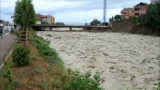 Türkeli'de sel felaketi