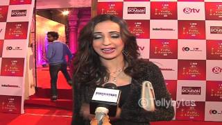Sanaya Irani at 14th ITA Red Carpet | Sanaya Irani elated with the response to Iss Pyar Ko Kya Naam