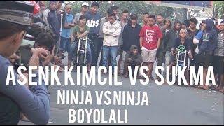 wow Lepas pagi LIARAN Besar 11 juni 2017 NINJA vs NINJA sukma vs asenk kimcil di BOYOLALI