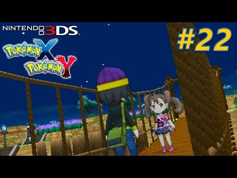 Pokémon X and Y - Playthrough Nintendo 3DS PART 22 (Route 19 / Grande Vallee Way / Snowbelle City)
