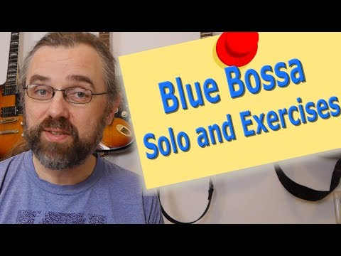 WebStore Preview - Blue Bossa Solo Etude and Exercises
