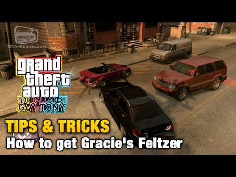 GTA: The Ballad of Gay Tony - Tips & Tricks - How to get Gracie's Feltzer