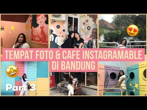 REKOMENDASI TEMPAT FOTO & CAFE INSTAGRAMABLE DI BANDUNG ✨🤩 Ft Ghina Alwi | TRAVEL VLOG PART 3