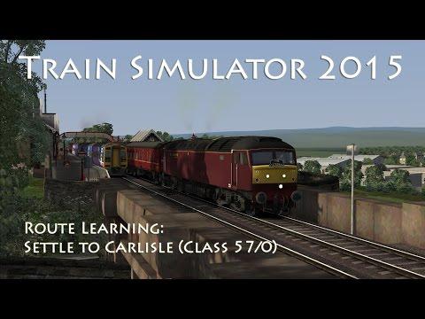 Train Simulator 2015 - Route Learning: Settle to Carlisle (Class 57 Railtour)