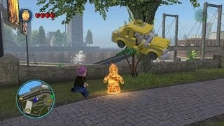 LEGO Marvel Super Heroes - All 50 Stan Lee in Peril Locations (Stan Lee Unlocked + Gameplay)