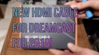 HDMI Link Cable for Dreamcast by Pound Technology