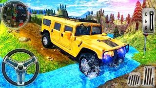 Offroad Jeep Hill Climbing 4x4 Racing - SUV Hammer Mountain Drive Simulator - Android GamePlay screenshot 1