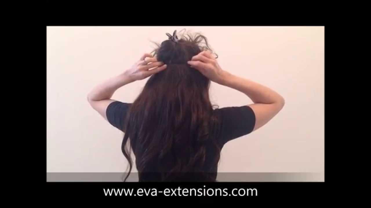 Excellent Video de pose monobande à clip volume naturel XXL 160g - YouTube RO01