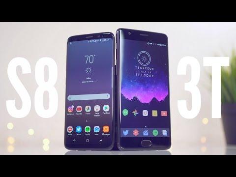 Galaxy S8 vs OnePlus 3T