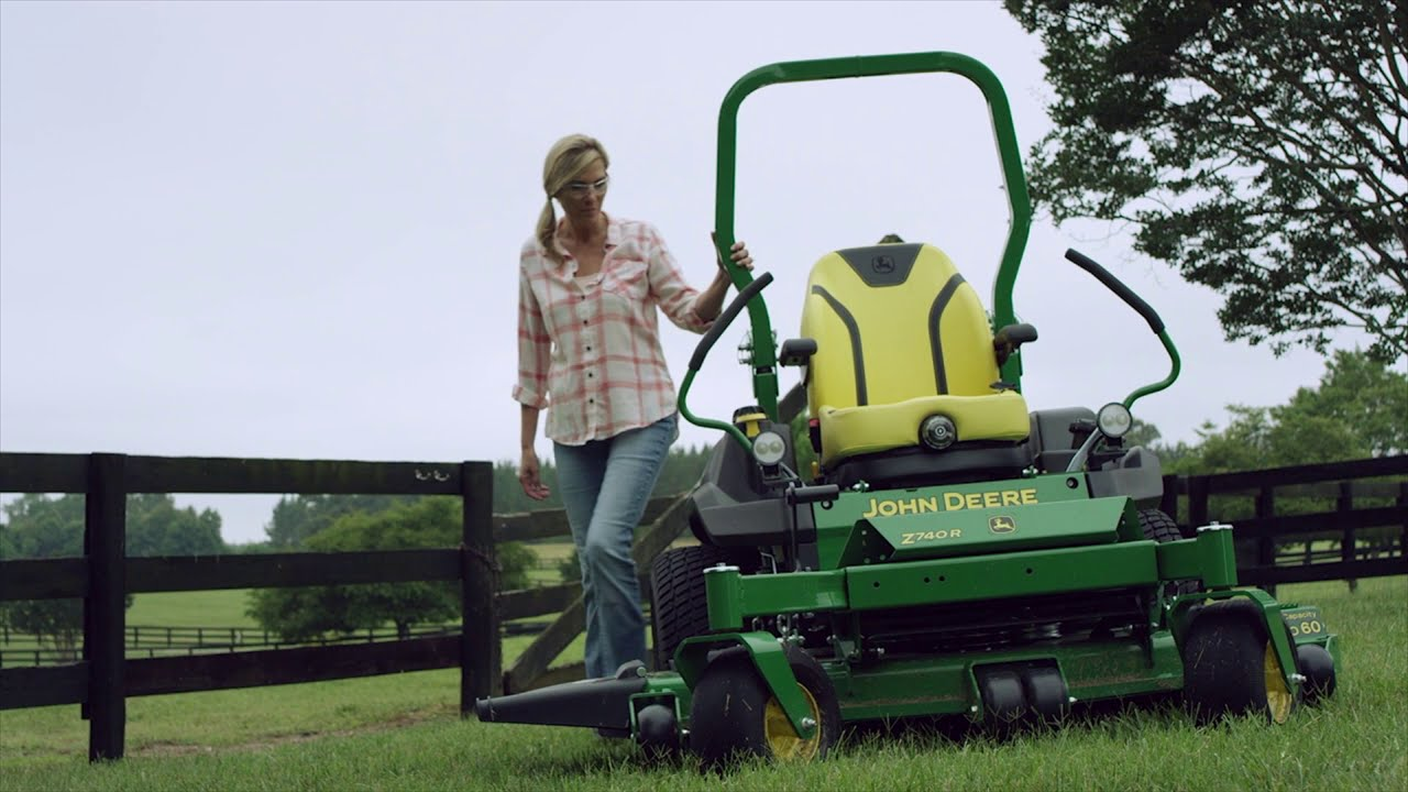 How to Perform a Pre and Post Mow Inspection for Z700 Series John Deere Lawn Mower