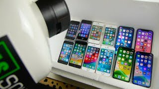 Download Pouring Liquid Nitrogen on Every iPhone - 11 Pro, 11, XS, XR, 8, 7, 6, 5, 5C, 4S, 3G, 2G Freeze Test Mp3 and Videos