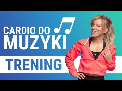 FITNESS DO MUZYKI -  trening 40 min. CARDIO & wzmacnianie 🔥🔥 | Codziennie Fit