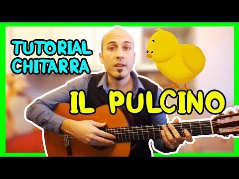 ACCORDI CANZONI PER BAMBINI - IL PULCINO - Tutorial di chitarra per genitori