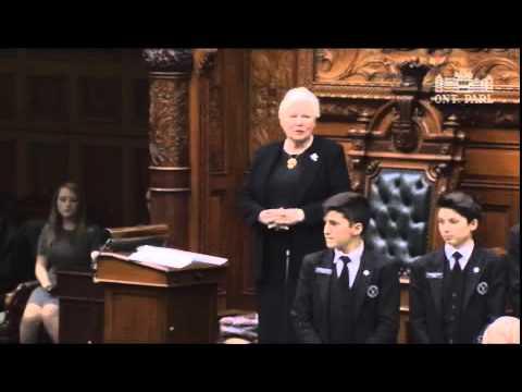 Fedeli's Bill 33 receives Royal Assent Dec. 10, 2015