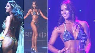 '머슬퀸' 이은경, 35kg 감량한 기적의 여신 ('2017 머슬마니아')