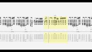 Bon Jovi - Wanted Dead Or Alive / Guitar Tab HD