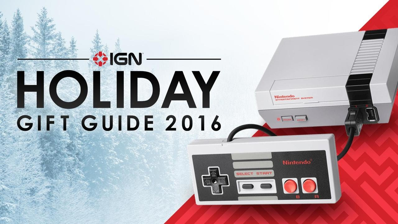 the best gifts for nintendo fans youtube rh youtube com Holiday Gift Guide 2017 Holiday Gift Guide 2016
