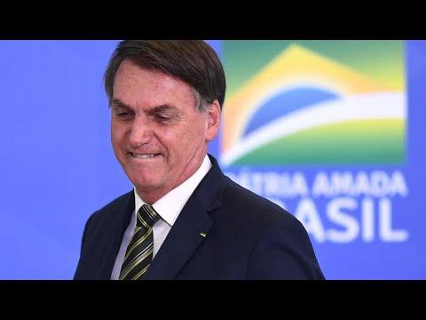 البرازيل: الرئيس بولسونارو ينتهك الحجر الصحي ويشارك في مسيرة قرب قصر الرئاسة  - 13:00-2020 / 5 / 25