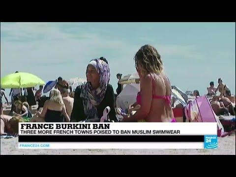 France burqini ban: More French towns ban Muslim swimwear