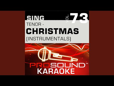 Christmas Shoes (Karaoke With Background Vocals) (In the Style of Newsong)
