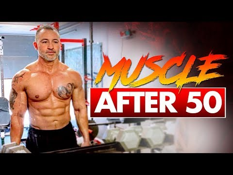 Best Workout To Build Muscle After 50 (Dumbbell Workout Over 50)