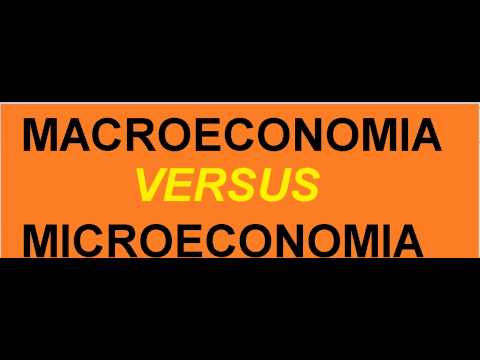 Curso de Economia Diferença entre Macroeconomia e Microeconomia Toda economia indivíduo empresa Aula de YouTube · Duração:  3 minutos 28 segundos