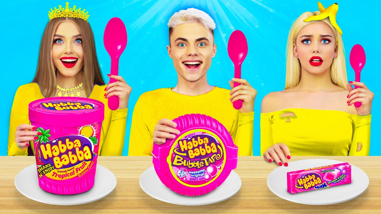 Download Wyzwanie Bogate vs Biedne vs Normalne Jedzenie!|Szalona bitwa & zabawne momenty by RATATA