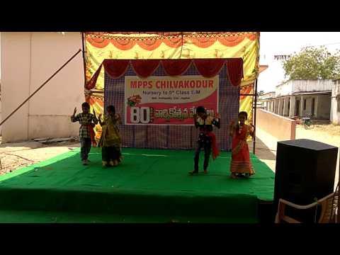 utti meeda koodu urinchinattu dance by kids