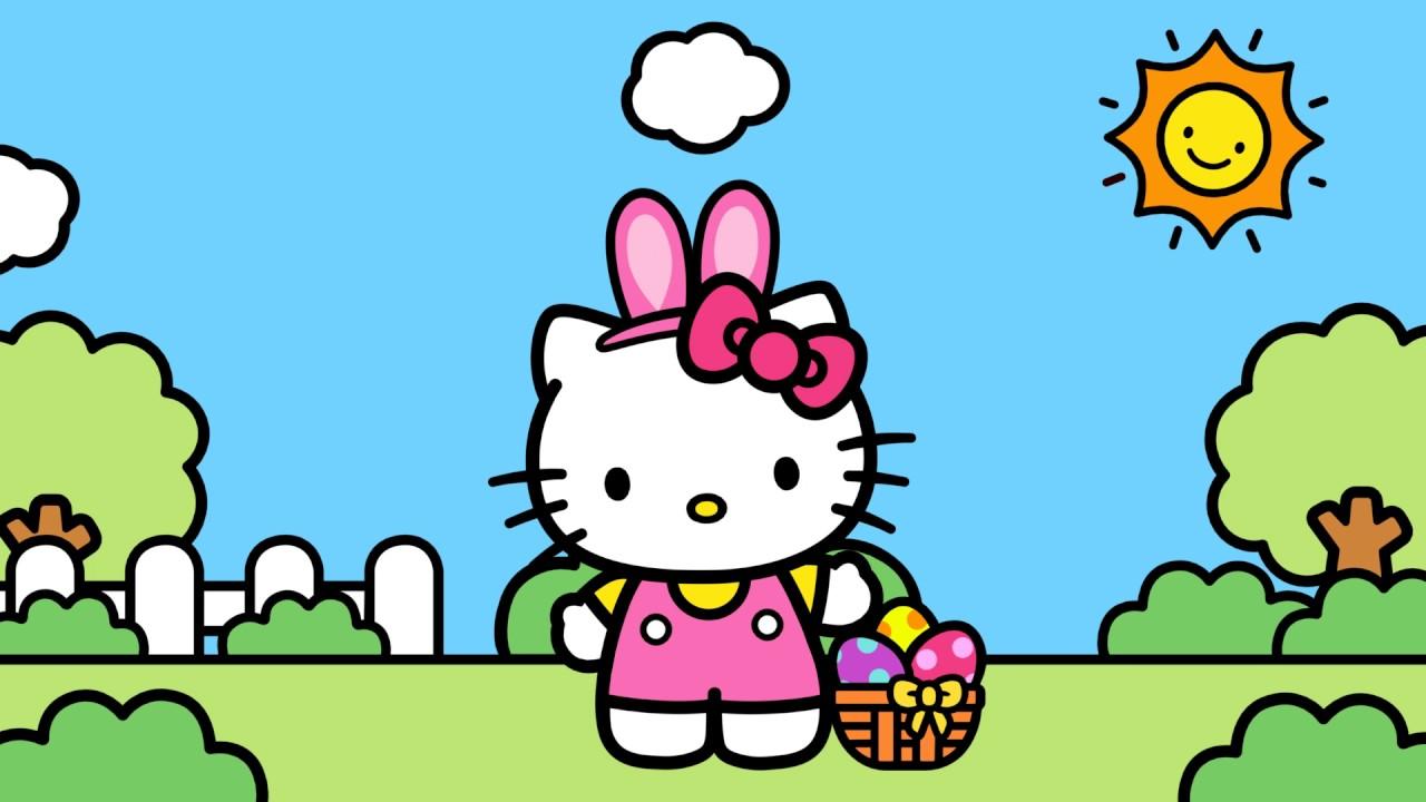 Pascoa O Mundo Da Hello Kitty Youtube