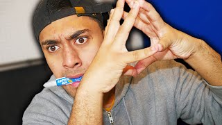 100 LAYERS OF SUPER GLUE CHALLENGE!! FAIL (EXTREMELY PAINFUL)