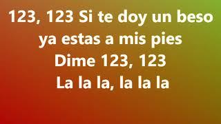 Sofía Reyes 1, 2, 3 ft. Jason Derulo & La Ghetto) letras