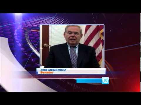 El senador Bob Menéndez reacciona a reapertura de embajada cubana en Washington