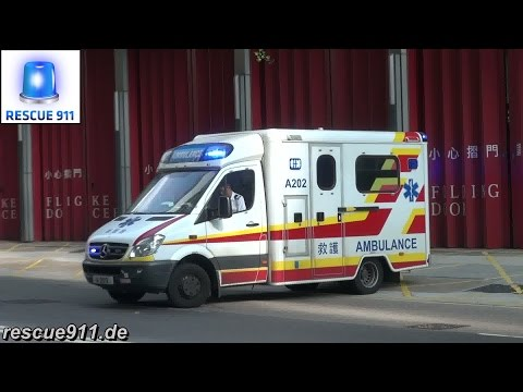 Ambulance Hongkong Fire Services Department (collection)