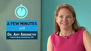 A Few Minutes with Dr. Amy Abernethy