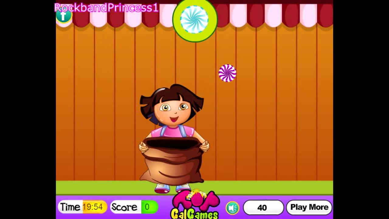 Nick Jr Preschool Games Dora Candy Catcher Game