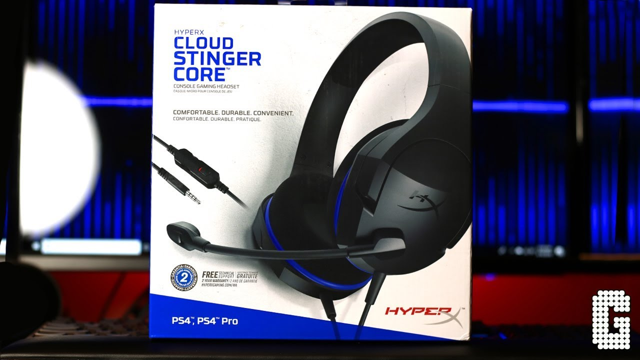 casque hyperx cloud stinger gaming ps4 connection ps4