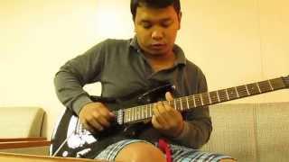 Jun Aducal Guitar solo cover - Itaas mo by Slash N Burn