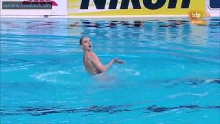 Natalia Ishchenko (RUS) Free Solo Preliminary Kazan World Championships 2015