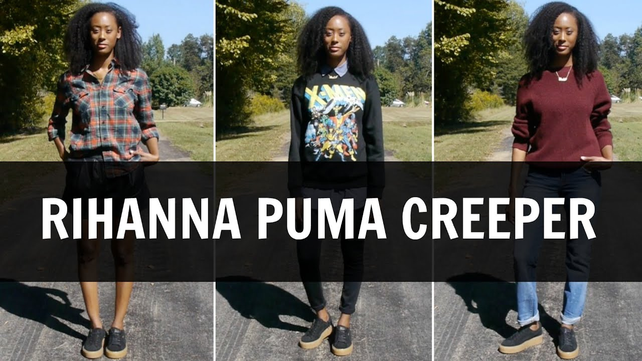 Puma Creepers Rihanna Schwarz