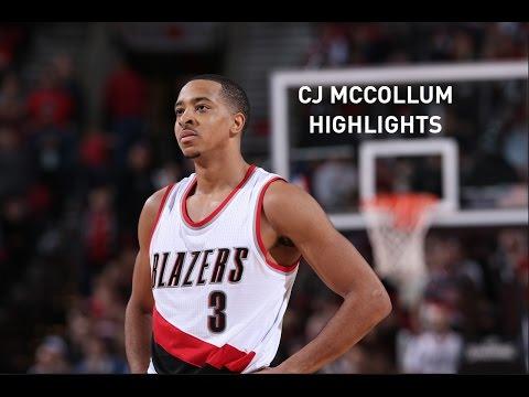CJ MCCOLLUM Pick & Roll highlights 2016 - 17