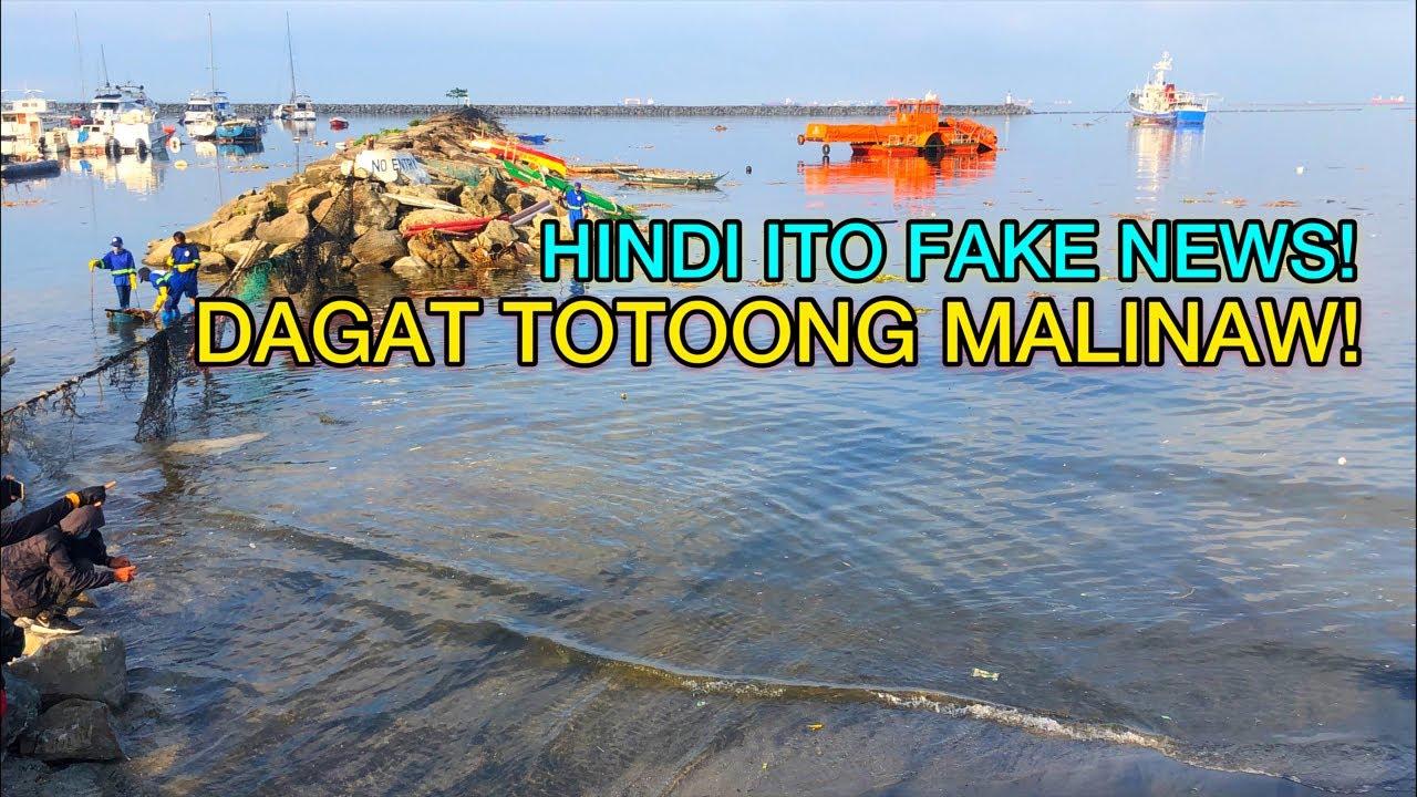 Download HINDI ITO FAKE NEWS! DAGAT SA MANILA BAY TOTOONG LUMINAW!