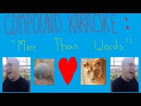 """Compound Karaoke - """"More Than Words"""""""