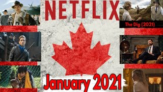 What's Coming to Netflix Canada in January 2021