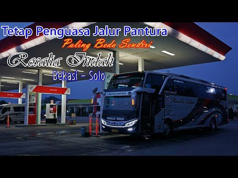 JALUR NYELENEH SENDIRI, PENGUASA JALUR PANTURA. Trip By Rosalia Indah Super Top Jakarta - Solo